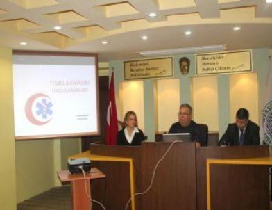 Belediye Personeline İlkyardım Eğitimi Verildi