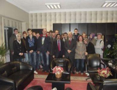 Çevik, Polonyalı Öğrencilerin Ziyaretini Değerlendirdi