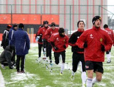Eskişehirspor Ankaragücü Maçının Çalışmalarına Devam Ediyor