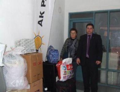 Güre AK Parti'den Van'a Yardım Eli