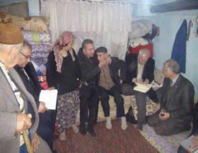 Kaymakam Turan Şehit Ailelerini Yalnız Bırakmadı