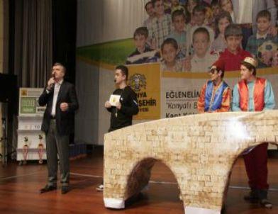 Konya'da Öğrenciler Hem Yarışıyor, Hem Şehri Tanıyor