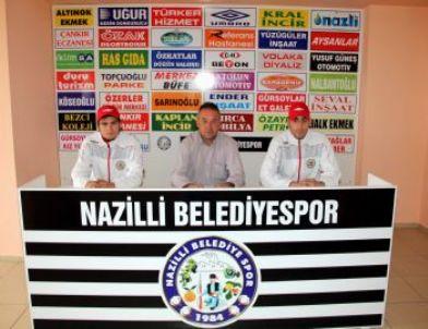 Lider Nazilli, Batman Petrolspor Maçına Hazırlanıyor