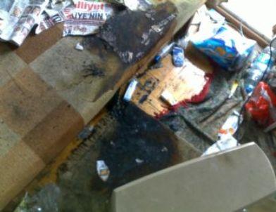 Milas'ta Evde Yangın: 1 Ölü, 3 Yaralı