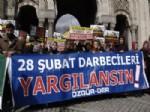 ANKARA SAVCıLıĞı - Özgür-der'den 28 Şubat Protestosu