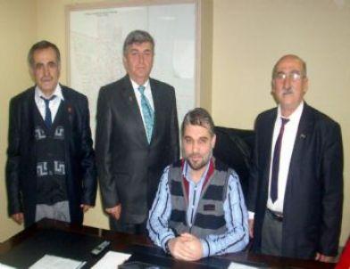 Salihlili Gaziler, Başkan Orhan'ı Ziyaret Etti