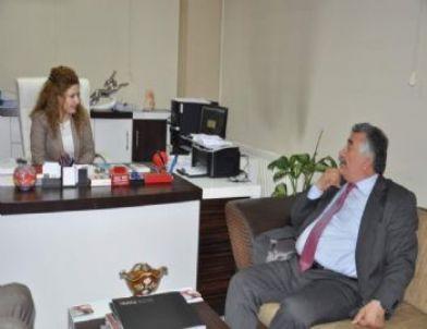 Siirt Belediye Başkanı Sadak'ın Yapı Denetim Şirket Ziyaretleri Sürüyor