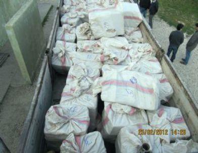 Silopi'de 63 Bin Paket Kaçak Sigara Yakalandı