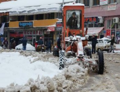 Simav'da Ulaşım ve Eğitime Kar Engeli