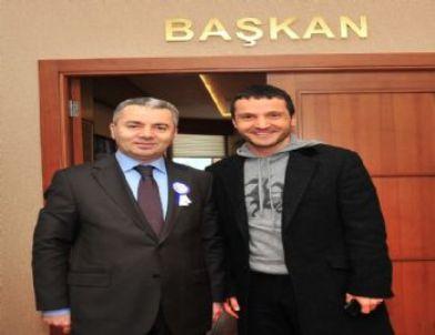 Sinan Özen'den Başkan Uzun'a Ziyaret
