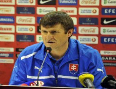 Slovakya Teknik Direktörü Hipp'in Açıklamaları