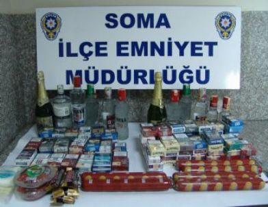 Soma Emniyetinden Hırsızlara Darbe