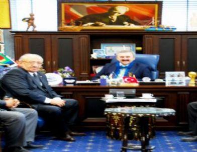Tariş Birlik Başkanı'ndan Başkan Kılıç'a Ziyaret