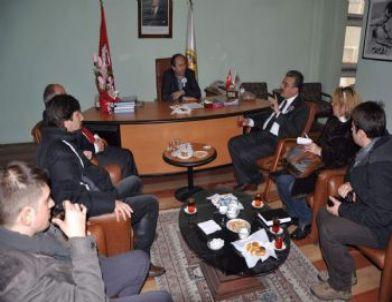Vergi Dairesi Başkanı Poyraz'dan Dagc'ye Ziyaret