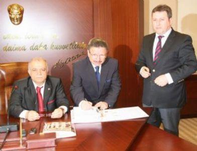 Yozgat'ta Oran Kalkınma Ajansından Hibe Almaya Hak Kazanan 6 Projenin Protokolü İmzalandı