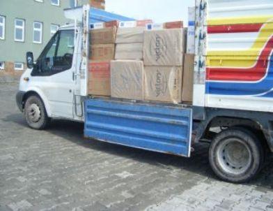 Ahlat'ta 44 Bin 700 Paket Kaçak Sigara Ele Geçirildi