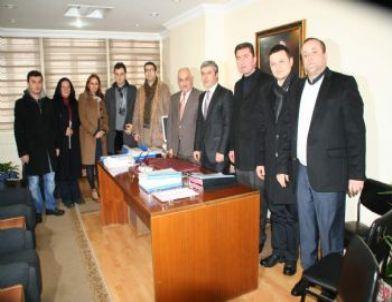 Ak Parti'den Vergi Dairesi ve Belediyeye Ziyaret