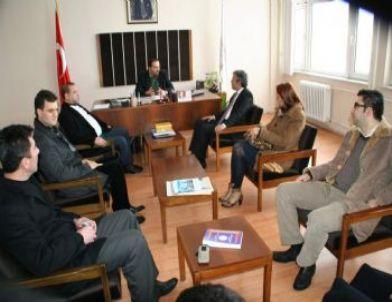 AK Parti İlçe Teşkilatı'ndan DMYO'ya Ziyaret