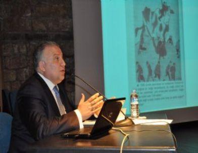 Akdeniz Üniversitesi'nde 'balkanlarda Türk Varlığı' Konferansı