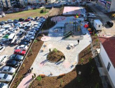 Atakum'a Yeni Parklar Yapılıyor