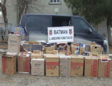 Batman'da 29 Bin 500 Paket Kaçak Sigara Ele Geçirildi