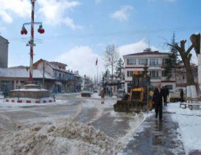 Belediyeden Kar Seferberliği