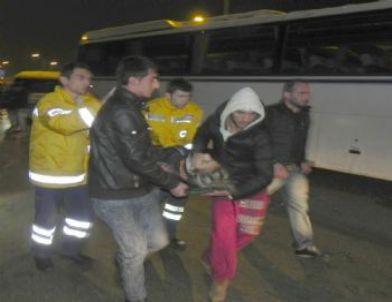 Bursa'da Yaşanan Zincirleme Kazada 15 Araç Birbirine Girdi