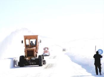 Çankırı'da 348 Köy Yolu Ulaşıma Kapandı
