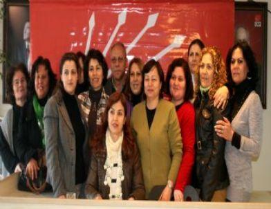 CHP Uşak Kadın Kolları Teşkilatı Kadın Kotasının Arttırılmasını Değerlendirdi