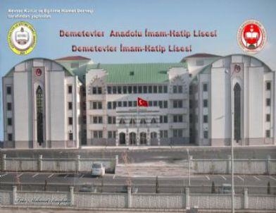 Develi Eğitim Gönüllüleri Ankara'ya Okul Yaptı