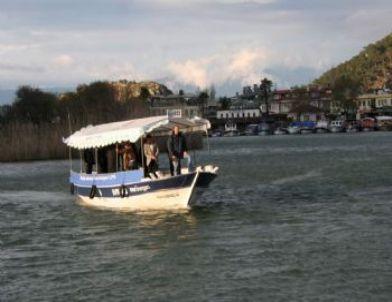 DLPG'li Tekne Dalyan Kanalı'nda Görücüye Çıktı
