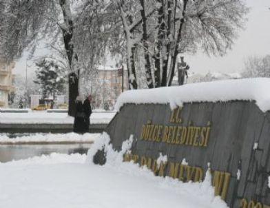 Düzce'den Kar Görüntüleri