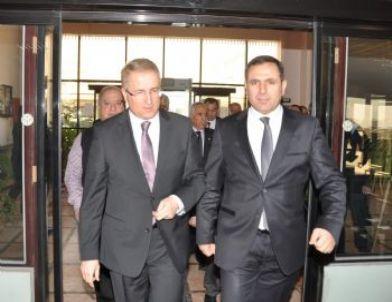 Emniyet Müdürü Süleyman Oğuz, GTB'yi Ziyaret Etti