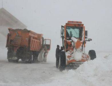 Erzurum'da 375 Köy Yolu Ulaşıma Kapalı