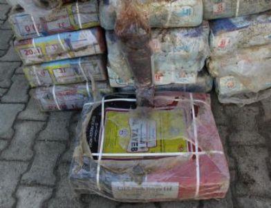 Hatay'da 1 Ton Kaçak Et ve 2 Ton Kaçak Mazot Ele Geçirildi