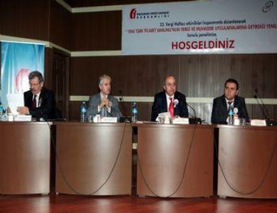"""İibf Yeni Türk Ticaret Kanunu ve Muhasebe Uygulamaları""""nı Masaya Yatırdı"""