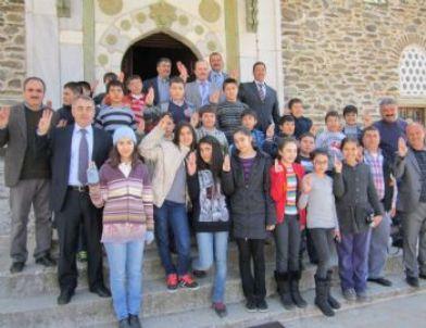 İzciler Camiyi Gezdi