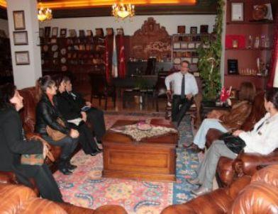 Kardelen Koleji Okul Aile Birliği Yöneticileri Ünver'i Ziyaret Etti