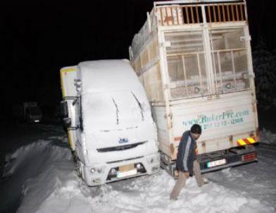 Kaz Dağları'nda 17 Kişi Mahsur Kaldı