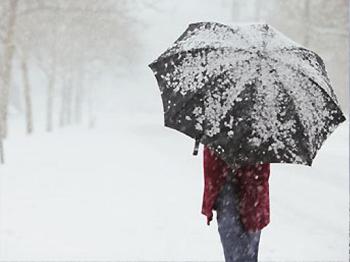Kemer'e Yıllar Sonra Kar Yağdı
