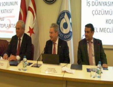 'kıbrıs Sorunu ve İş Dünyasının Sorunun Çözümüne Katkısı' Konuşuldu