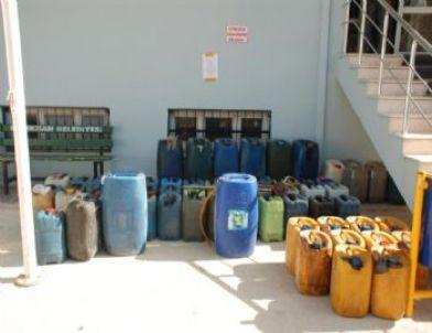Kırıkhan'da Kaçak Akaryakıt ve Sigara Operasyonu