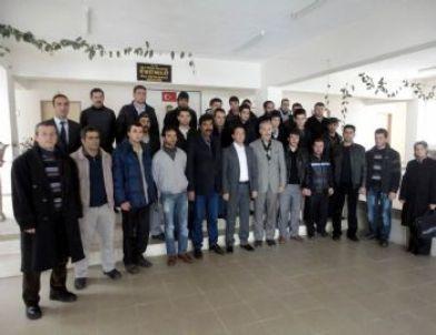 Kursiyerlerden Kaymakam Sinanoğlu'na Ziyaret