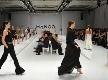 Mango'dan Göz Kamaştıran Defile