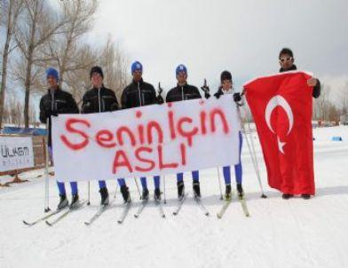 Milli Kayakçılar Aslı'yı Unutmadılar