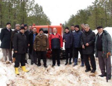Murat Dağı'na Kayak Merkezi Yapılacak