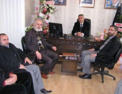 Müsiad Yöneticilerinden Ak Parti Malatya Merkez İlçe Teşkilatına Ziyaret