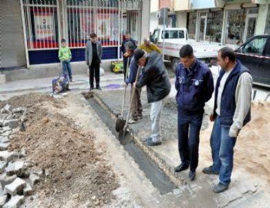 Nusaybin'de Tek Yönlü Cadde ve Sokaklara Kapanlı Önlem