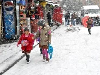 Polatlı'da Eğitime Kar Engeli