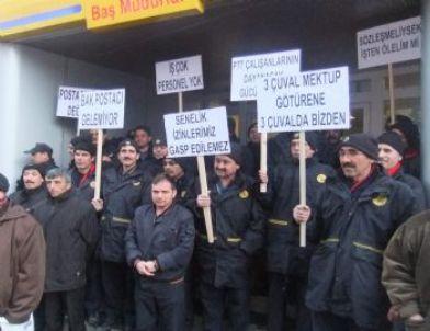 Ptt Çalışanlarından 'personel' İsyanı
